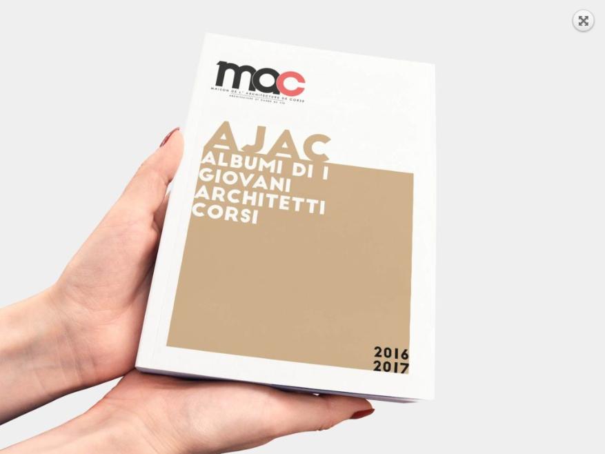 graphiste corse catalogues jeunes architectes de Corse